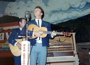 Marty Robbins with the Martin Model 5-18 1960's vintage